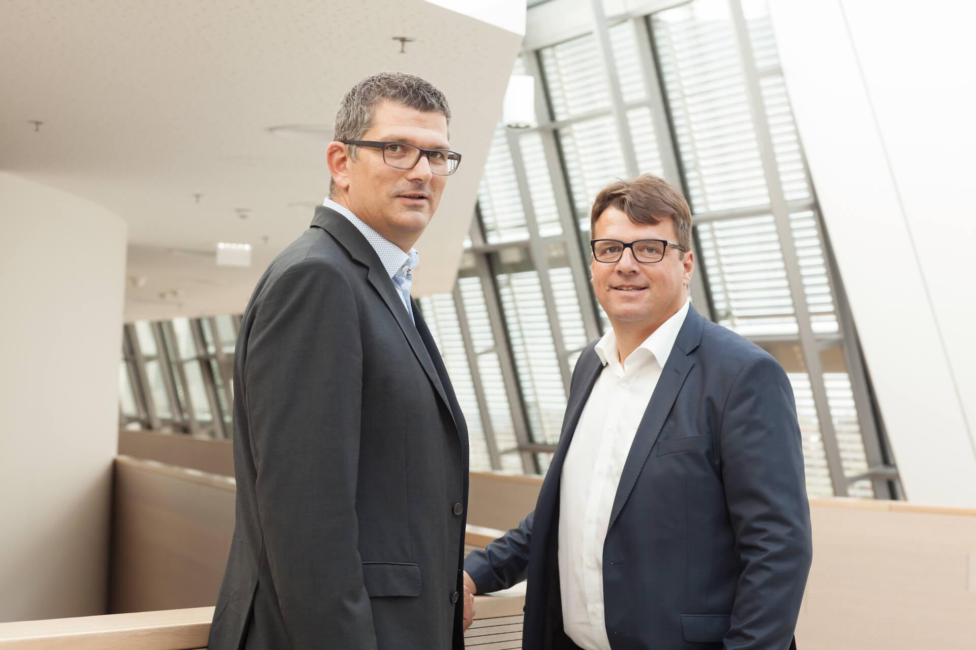 JHP Horst Lukas und Johannes Hofer